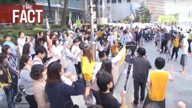 慰安婦像 日本大使館 水曜デモ